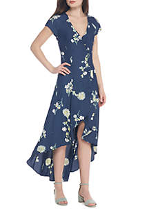 Lost In You Floral Midi Dress