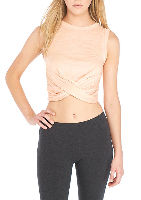 Free People Knot Front Tank