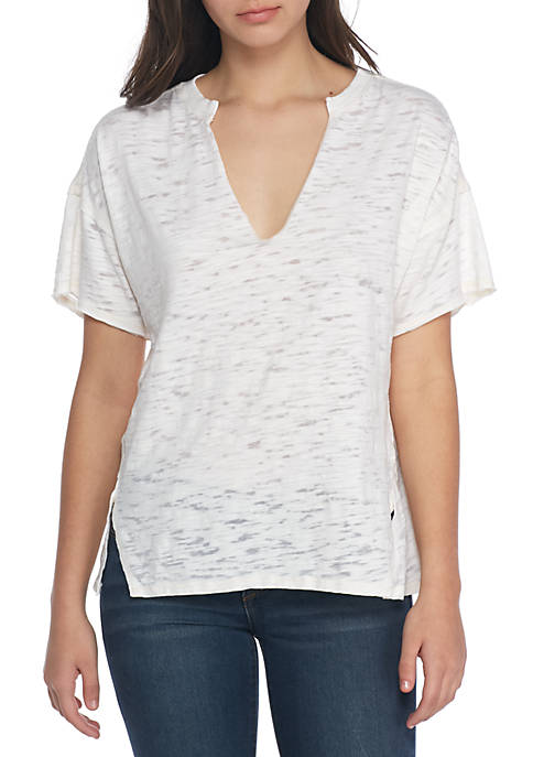 Free People Maddie V-neck Tee