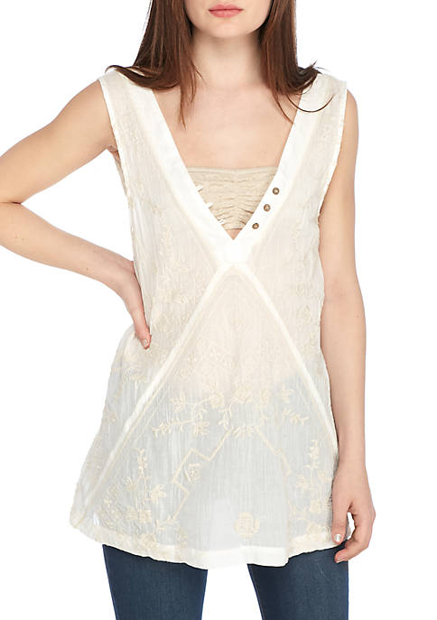 Free People Sweetest Shifty Tunic