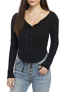 Cecilia Long Sleeve Knit Top