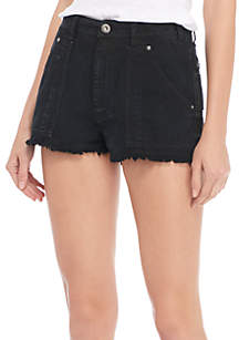 Get Far Out Cut-Off Shorts