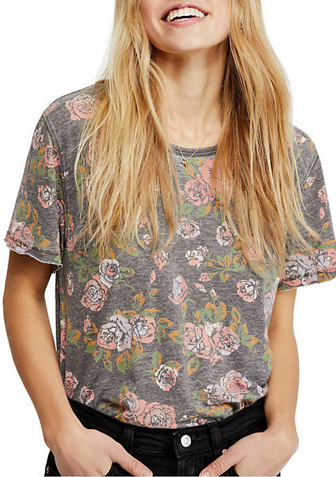 Free People Tourist Printed Tee
