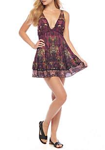 Printed Cami Mini Dress
