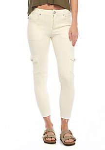 Utility Denim Skinny Jeans