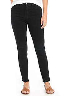 Stella High Rise Black Skinny Jeans
