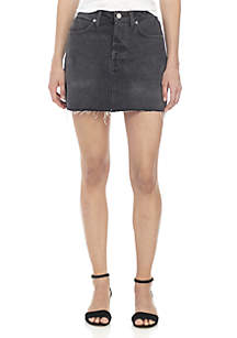 Rugged Denim Skirt