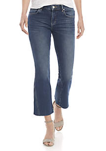 Rita Crop Flare Jeans