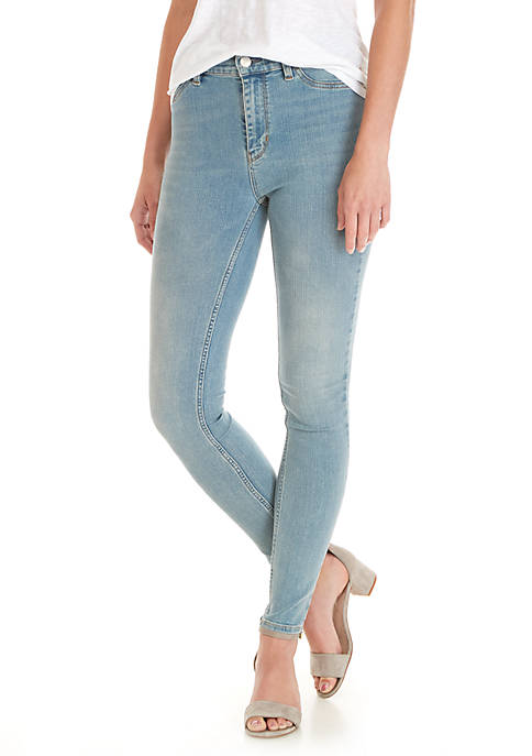 Free People High Rise Long Jeans