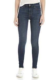 High Rise Long Jeans