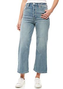 Wales Wide Leg Crop Jeans