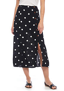 Retro Love Dot Skirt