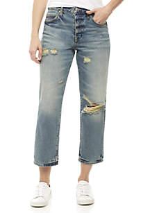 Extreme Washed Boyfriend Jeans