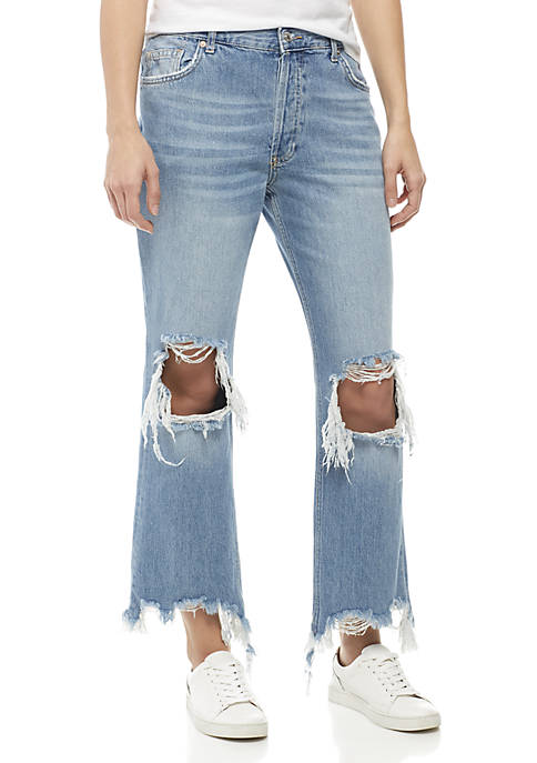Free People Maggie Straight Jeans