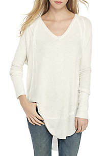 Catalina V-Neck Thermal Sweatshirt