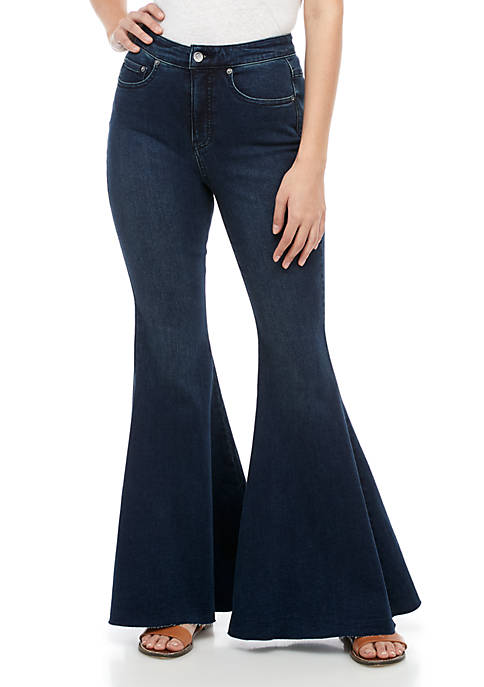 Free People Ma Cherie Super High Rise Flare