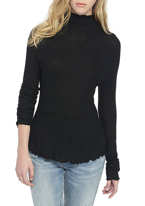 Make It Easy Thermal Turtleneck Sweater