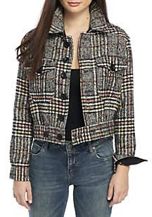 Slouchy Eisenhower Jacket