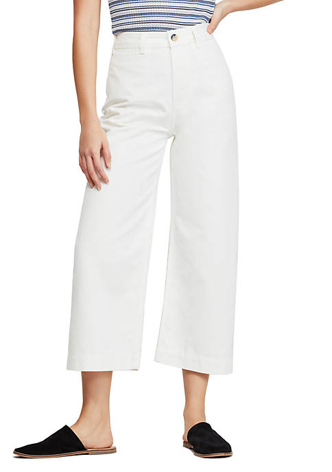 Pattie Crop Wide Leg Pants