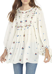 Kiss From a Rose Embroidered Tunic