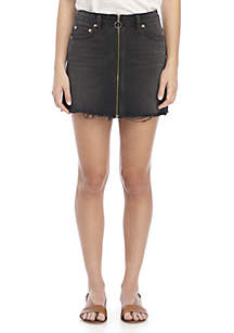 Mini Zip It Up Skirt