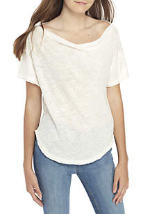 She's So Cool Off-the-Shoulder Tee