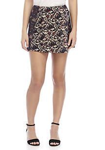 Mini Jacquard Skirt