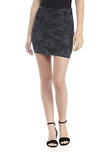 Mod Femme Camo Skirt