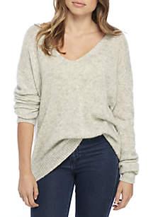 Gossamer V-Neck Sweater