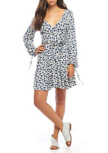 Pradera Mini Wrap Dress