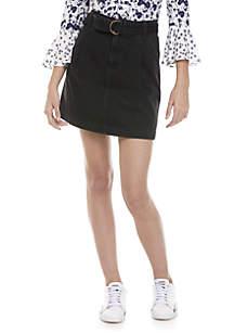 Jade Belted Skirt