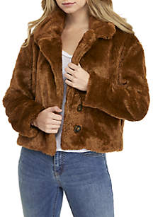 2-Button Fur Coat