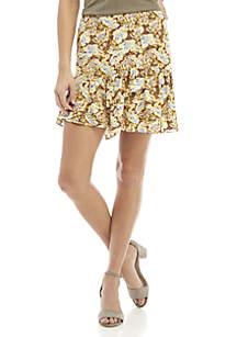Nadia Wrap Mini Skirt