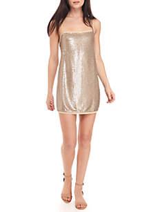 Time To Shine Slip Dress