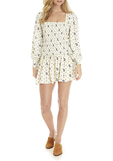 Free People Two Faces Mini Dress