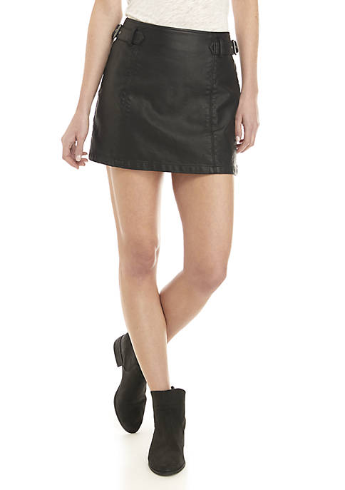 Charli Vegan A Line Skirt