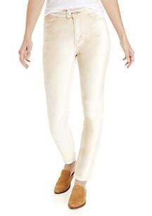 Sweet Jane Velvet Skinny Pants