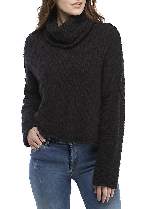 Free People Big Easy Cowl Pullover Sweater