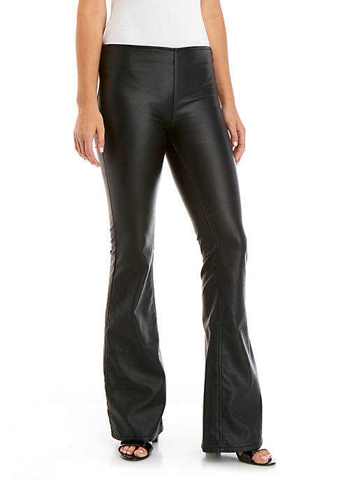 Penny Pull On Vegan Leather Pants