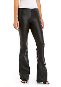 Penny Pull On Vegan Leather Pants by Free People
