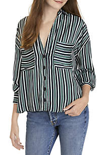 Mad About You Button Down Blouse