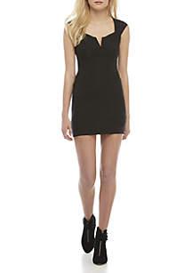 Lia Black Denim Mini Dress