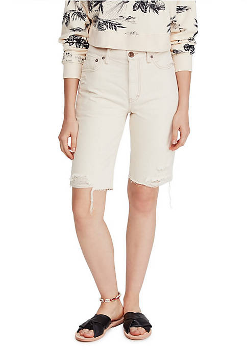 Caroline Cuff Off Shorts