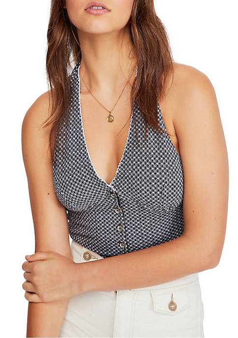 Free People Picnic Halter Top