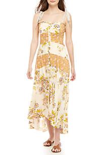 701b0ce60eb Wonderly Floral Print Soft Pants · Free People Lover Boy Maxi Dress