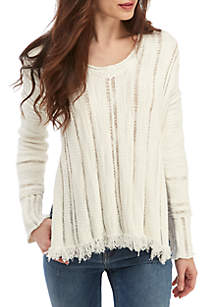Free People Ocean Drive Pullover Sweater