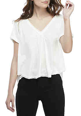 57d6671e5 Free People All You Need V-Neck Tee ...