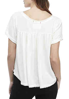 8295f6735c3bc ... Free People All You Need V-Neck Tee