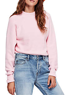 Free People Too Good Pullover Top