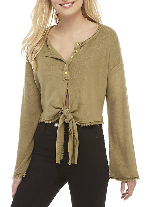 Free People Emmas Henley Top